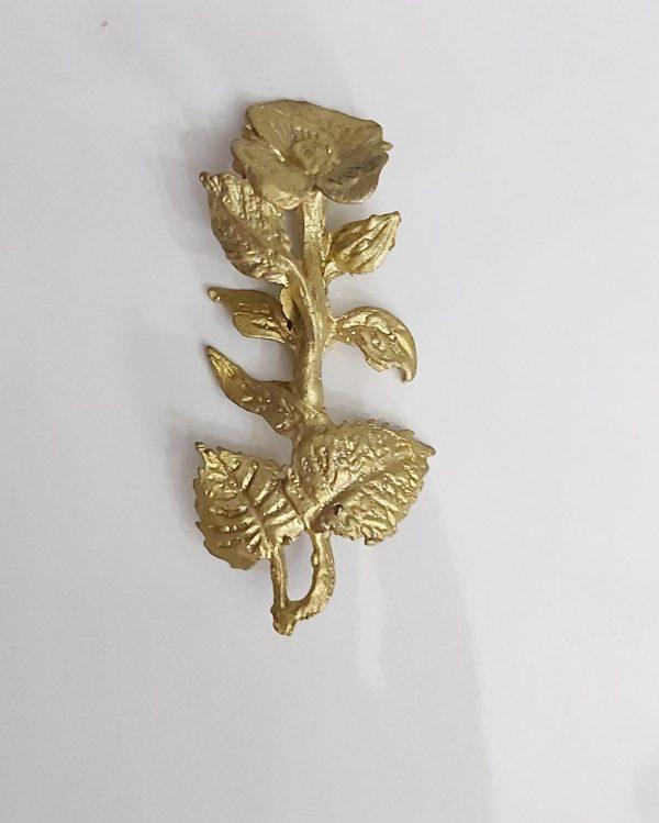 گل و برگ مومی کد ۴۵۶